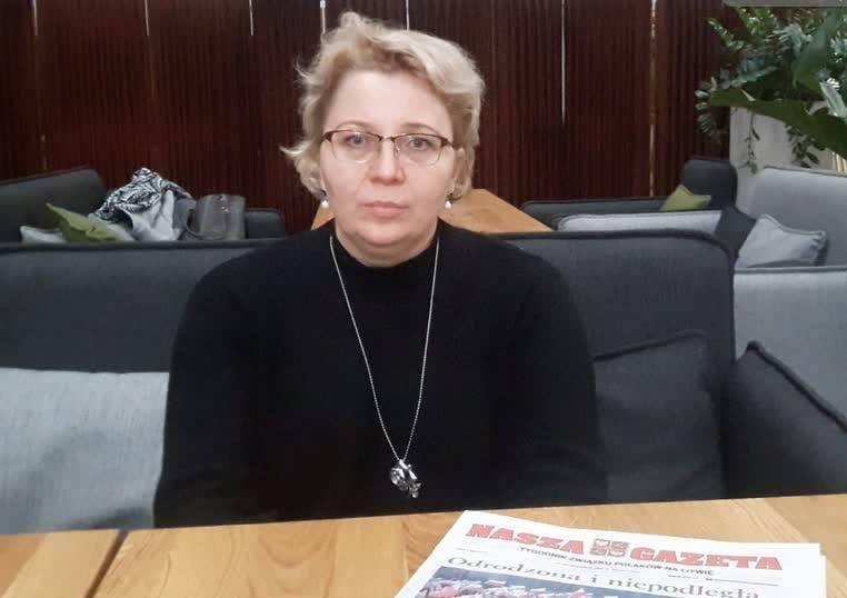 Renata Cytacka: Człowiek zamiast Pana Boga zaczyna czcić pieniądz