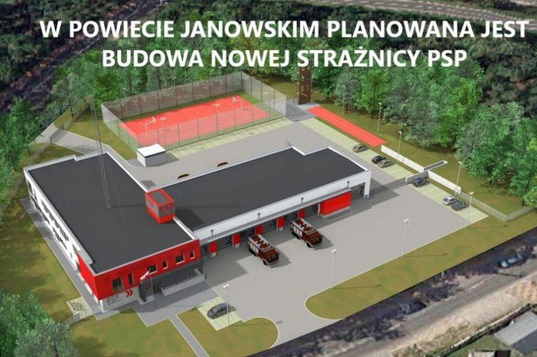 W Janowie Lubelskim powstanie nowa strażnica PSP